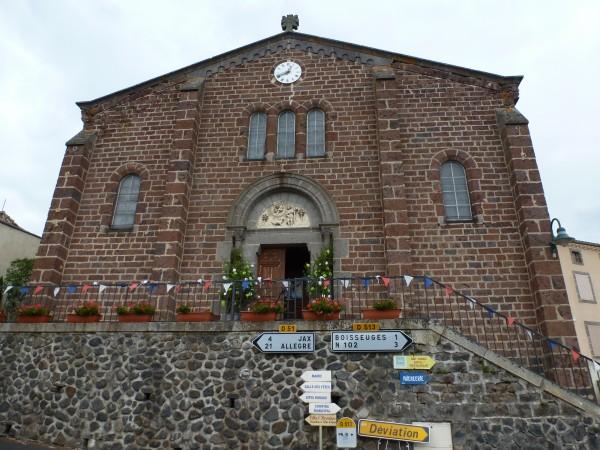 l'église de Chavaniac