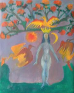 Femme arbre-  Marie Jo Geffray
