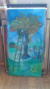 La lune monte à l'arbre-Marie Jo Geffray