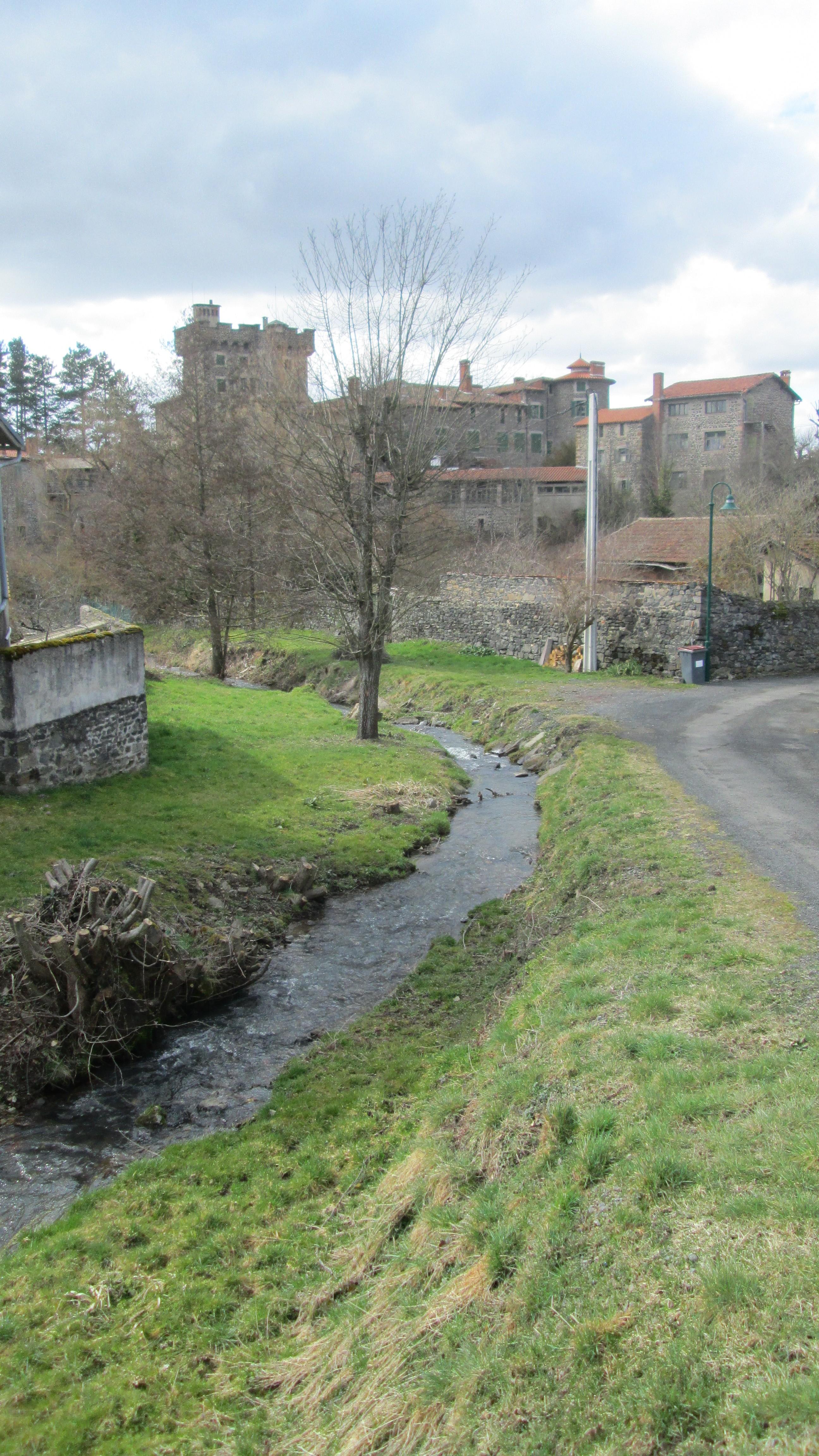 Ruisseau  Chavaniac entrée (photo S.Dallet)