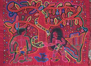 Adam & Eve (Molas-mexique)