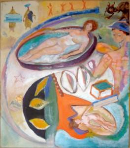 Mémoire-de-l'eau hommage à Bonnard (Sylvie Dallet, 2010)