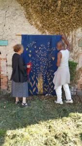 L'abre d'or de Rosine Astorgue installée par Eddy Saint Martin