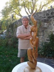 2014-11-02_La belle oiseleuse et son createur Daniel Chabidon