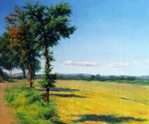 Paysage à la campagne, 65.54cm-2