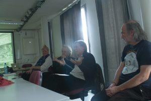 Monika Siejka, Christian Gatard, Hervé Fischer, Bernard Boisson