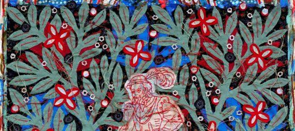 A.Lepage, dans la forêt profonde..., 2016, 53x43cm-2