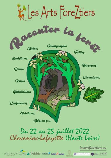 Affiche des Arts ForeZtiers 2022